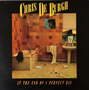 Chris De Burgh ‎- At The End Of A Perfect Day (LP) (EX+/VG)